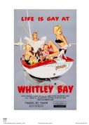 Whitley Bay - Life is Gay - Railway & Travel Poster